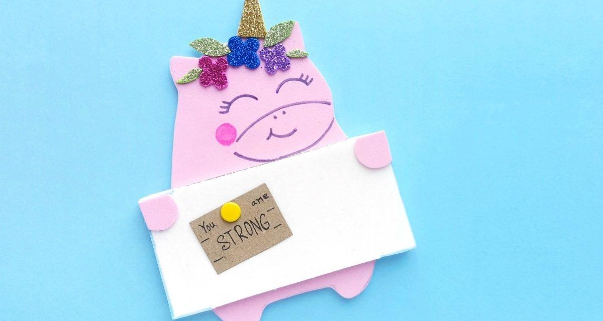 An Easy Unicorn Craft Kids Will Love – A Unicorn Pinboard!