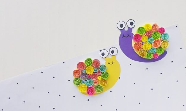 Basic Paper Quilling Project – Quilled Snail Tutorial